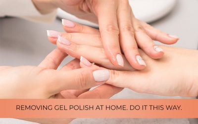 Removing gel polish at home. Do it this way.