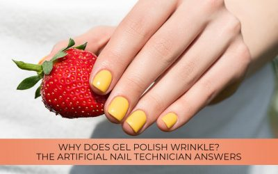 Why does gel polish wrinkle? The artificial nail technician answers